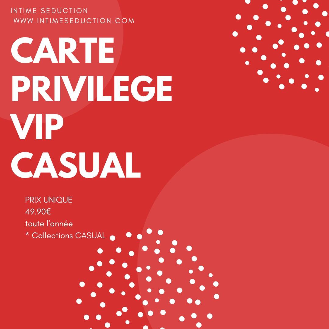 CARTE VIP CASUAL